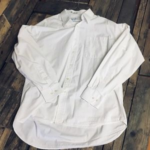 Men's sz 16 1/2 34/35 Christian Dior white shirt